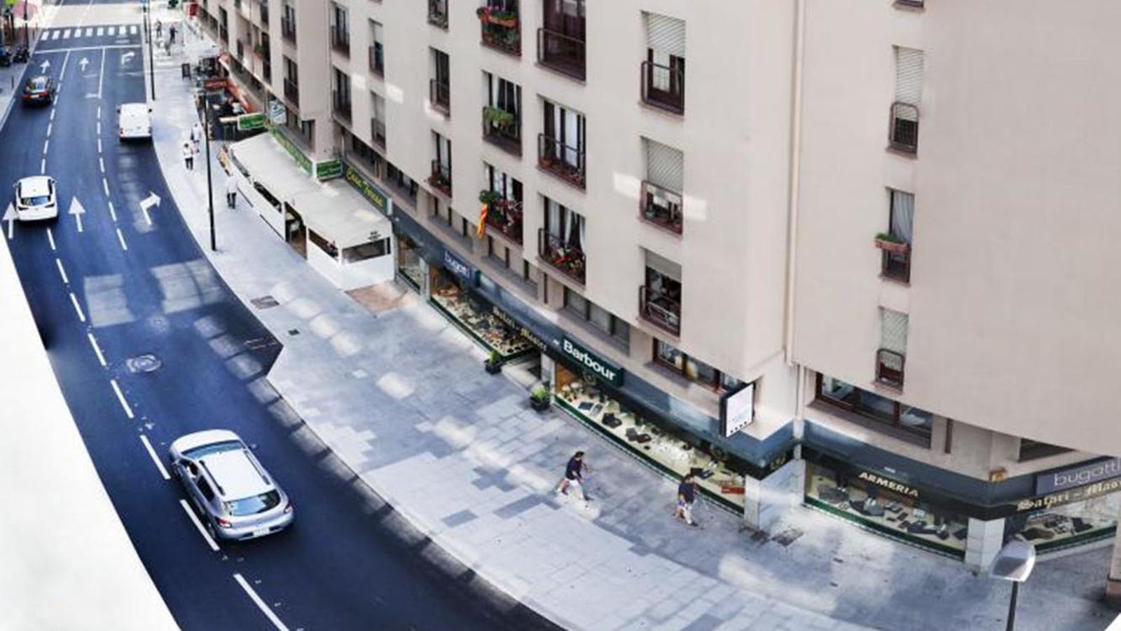 Una imatge del carrer Bonaventura Armengol. / COMÚ D'ANDORRA LA VELLA