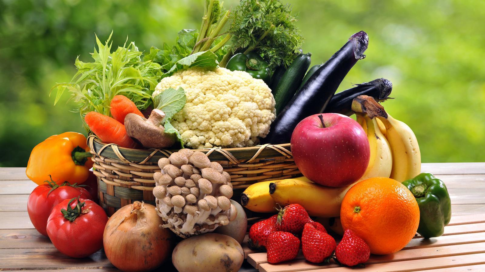 Una dieta variada ha d'incloure tots els colors de la paleta al plat