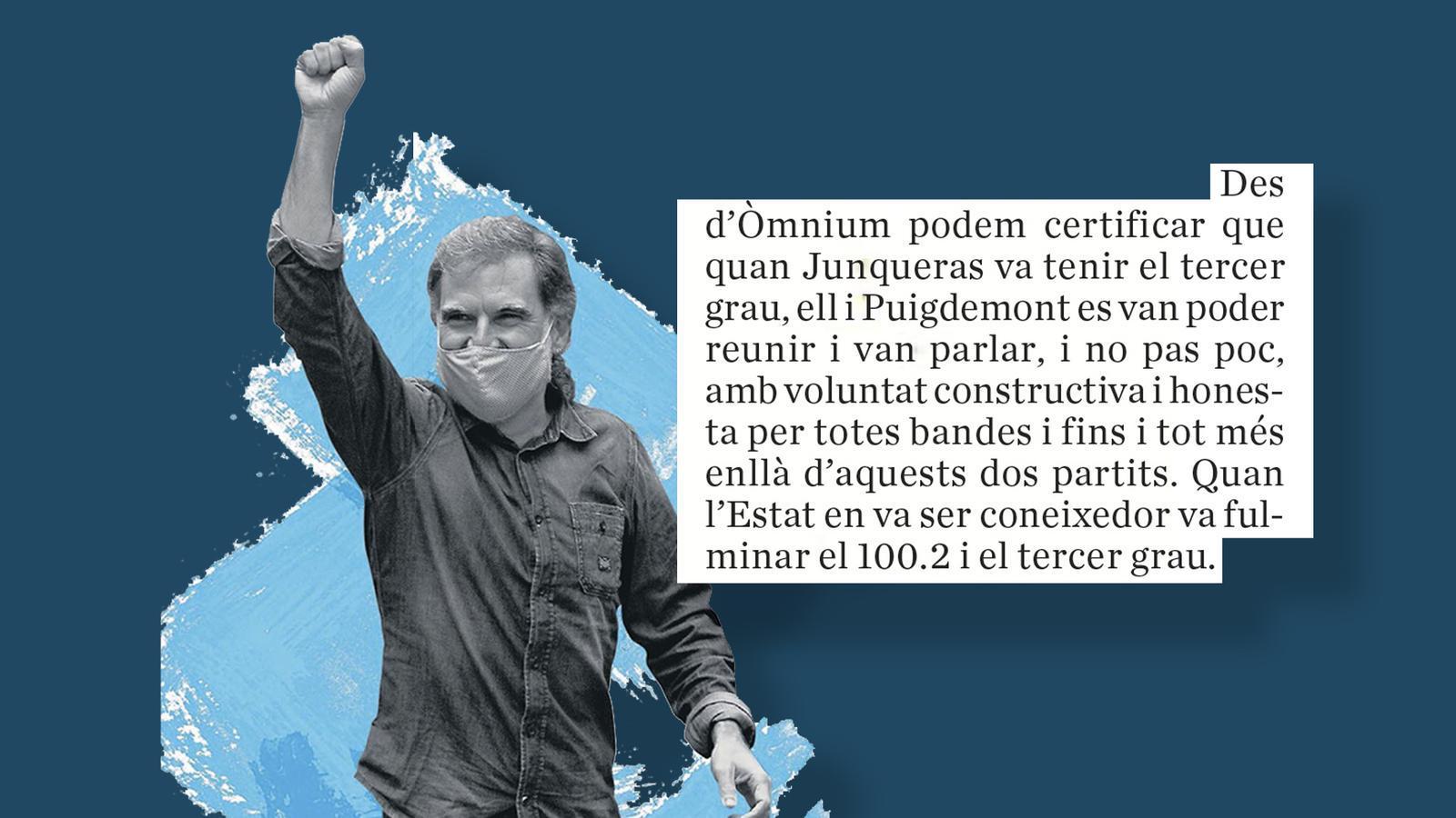L'anàlisi d'Antoni Bassas: 'Cuixart i la defensa dels drets'