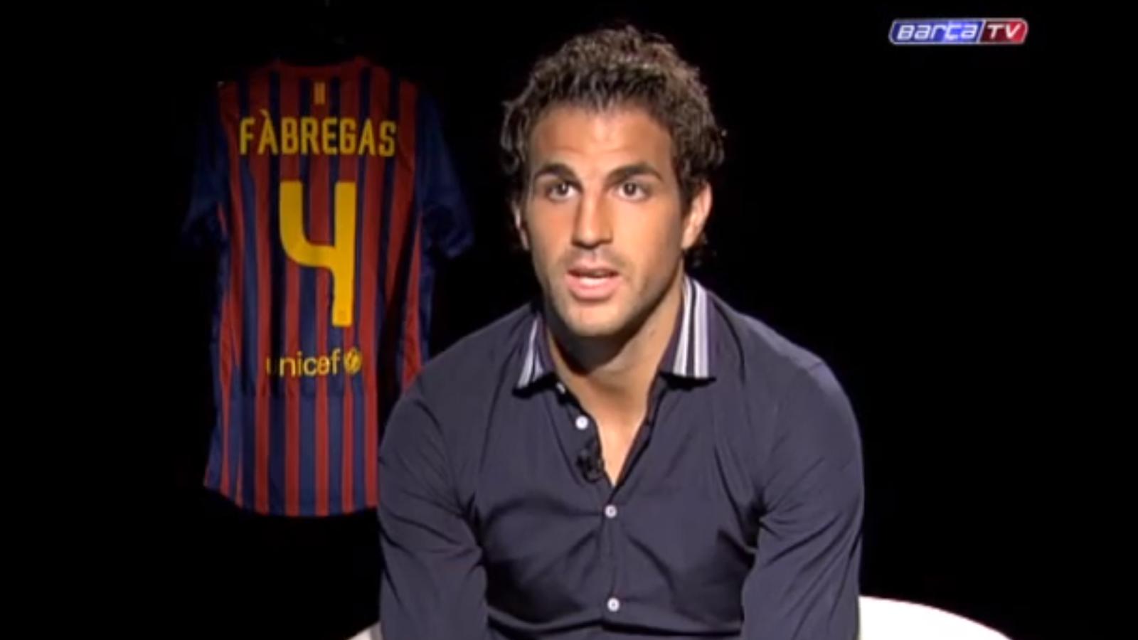 Cesc: No he vingut a retirar Xavi