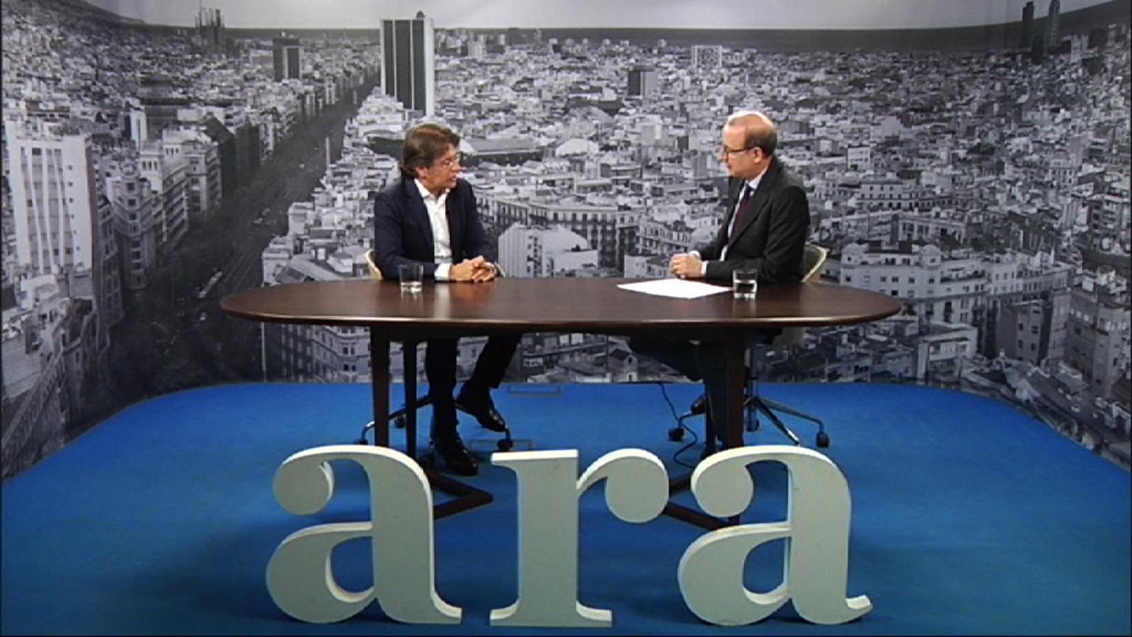 Entrevista d'Antoni Bassas a Toni Freixa