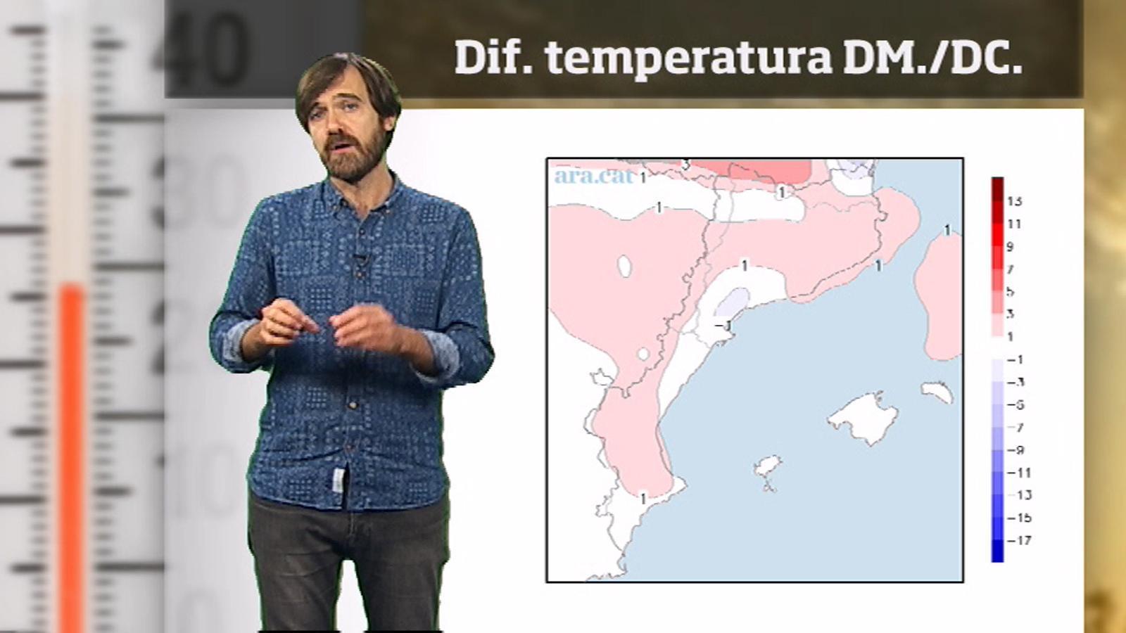 La méteo en 1 minut: migdies encara més d'estiu