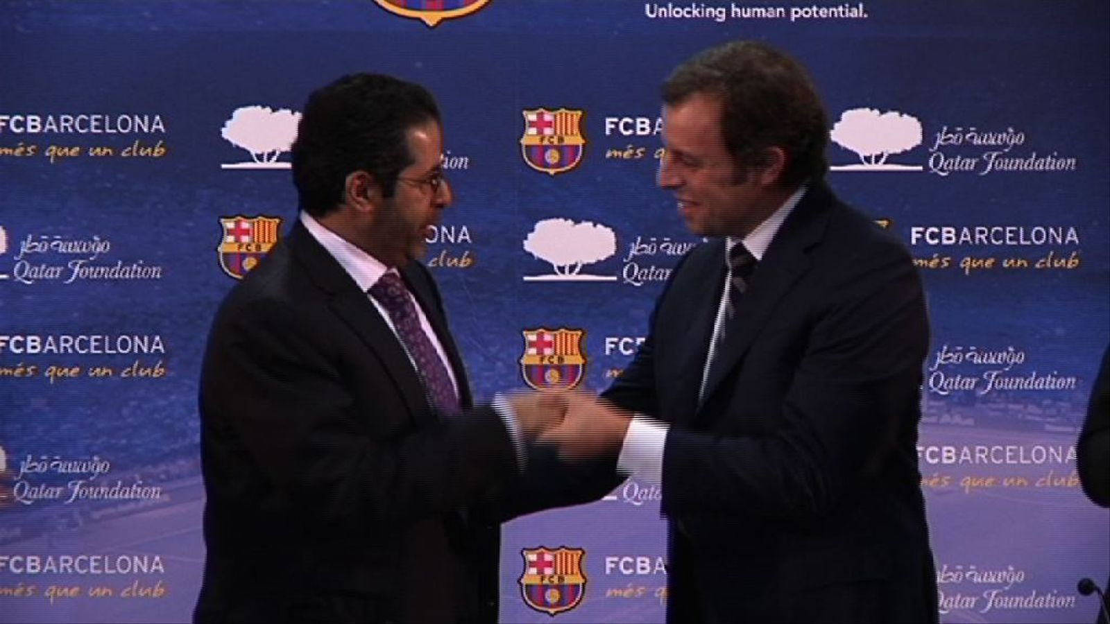Sandro Rosell: Un gran acord per tapar forats