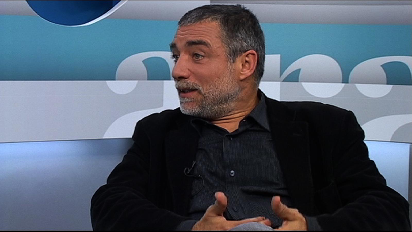 Jaume Plensa: M'encanta l'avió perquè és el no-lloc. I crec molt en l'ésser humà, que arreu és exactament idèntic