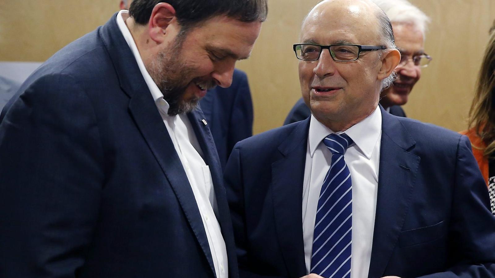 Intervenció total: Hisenda es queda amb la gestió de 4.500 M€ del pressupost de la Generalitat