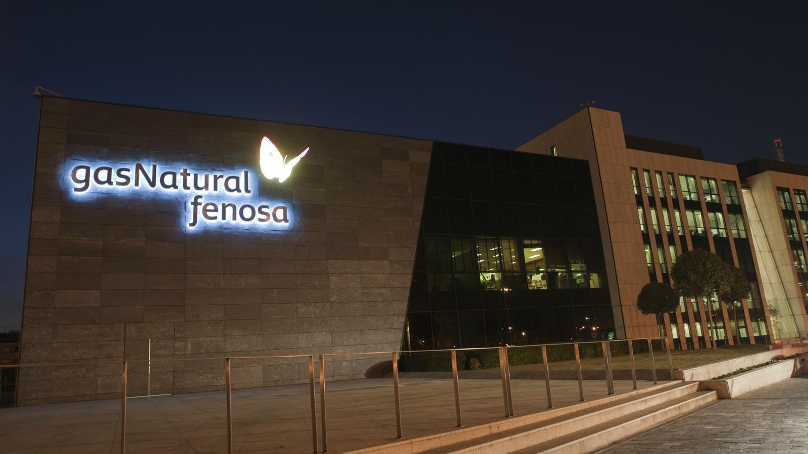 La seu de Gas Natural Fenosa a Madrid.