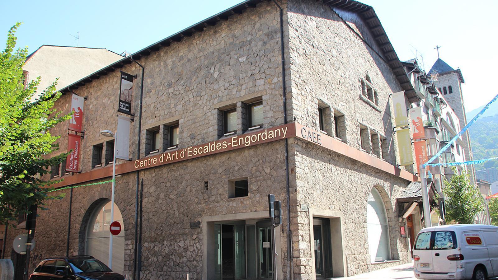 El Centre d'Art d'Escaldes-Engordany. / ARXIU ANA