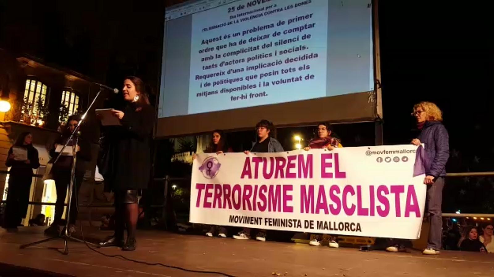 Vídeo del manifest que han llegit els organitzadors