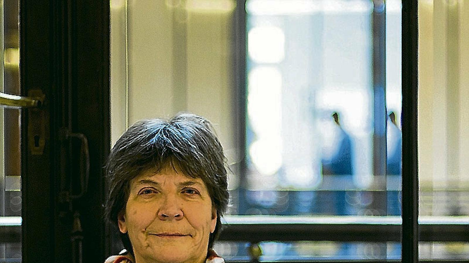 La professora de ciències ambientals de la Universitat de Lancaster Barbara Maher va participar al cicle Re-city a Barcelona.