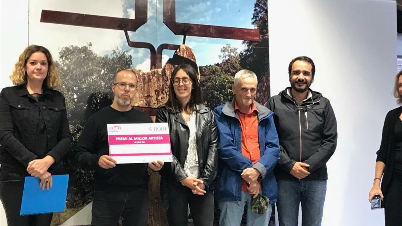 Martín Blanco guanya la tercera edició d'Ordino Jardins d'Art. / COMÚ ORDINO.