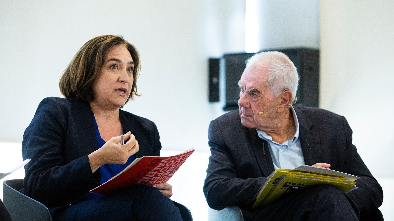 Ada Colau i Ernest Maragall en una imatge d'arxiu / CÈLIA ATSET