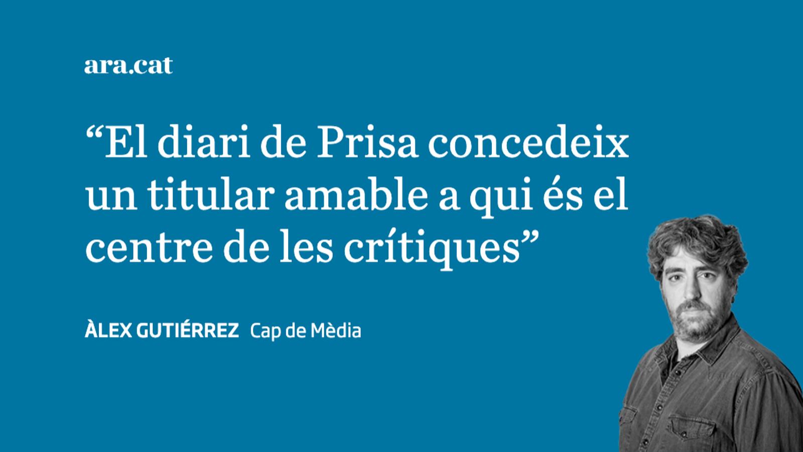 La temerària aposta Calviño i el suport d''El País'
