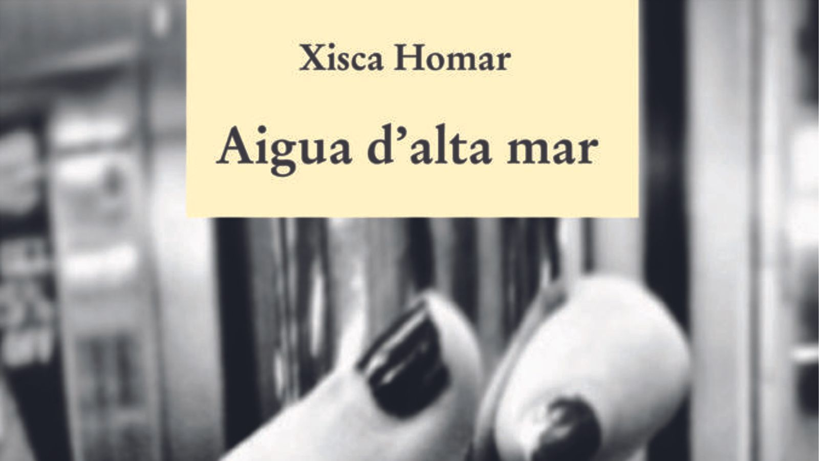 Presentació del llibre 'Aigua d'alta mar'