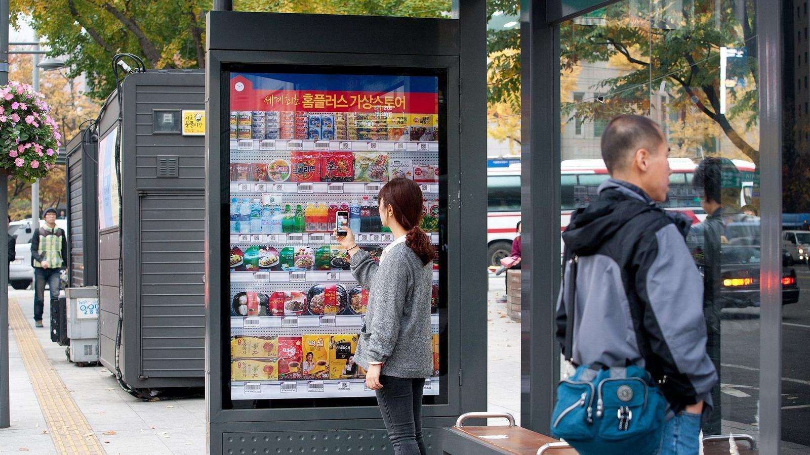 El mòbil es prepara per revolucionar Les compres / TESCO
