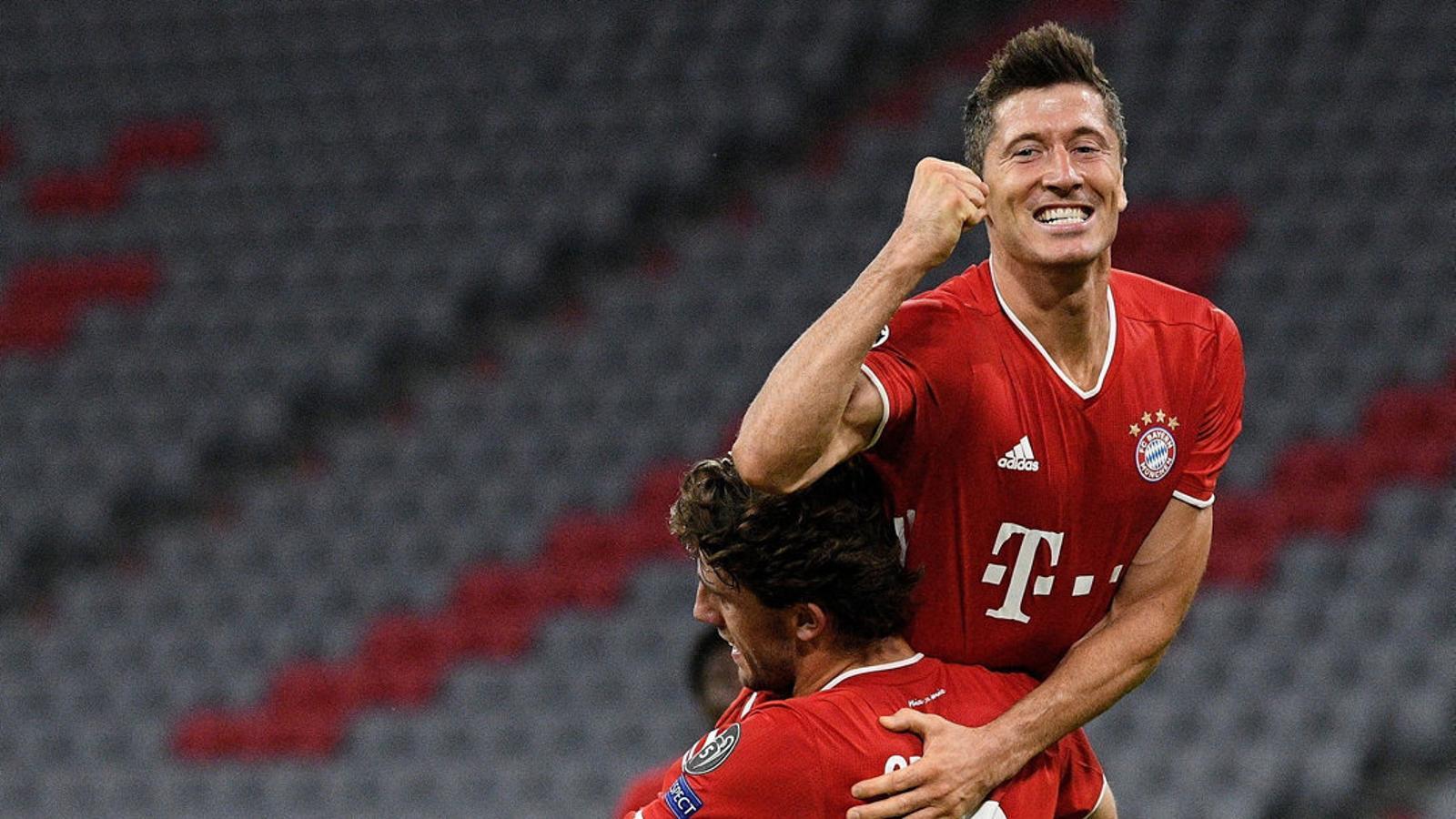 El polonès Robert Lewandowski és el màxim golejador del Bayern aquesta temporada.