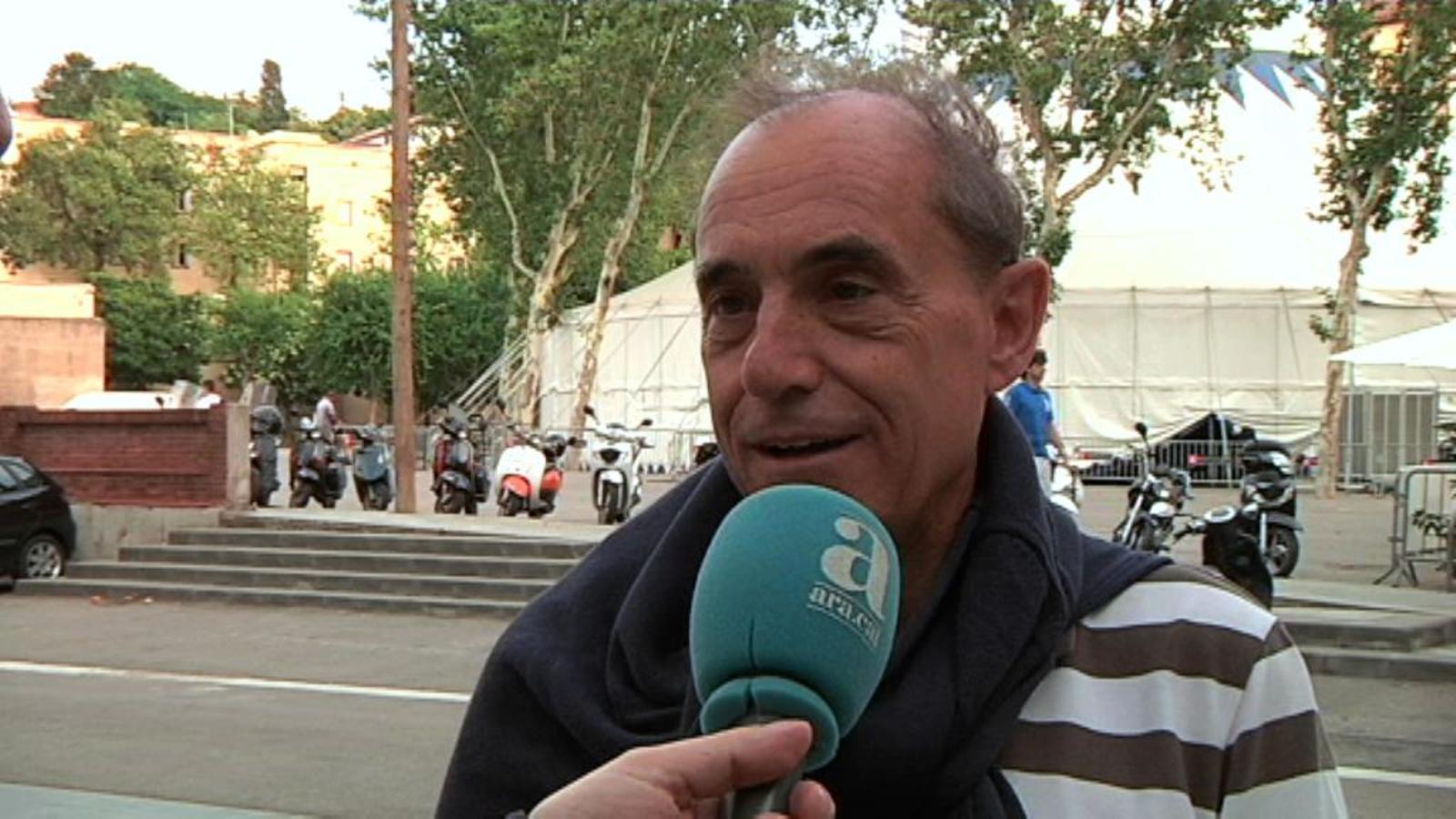 Ramon Roca, espectador del Grec: Veuré 4 espectacles en 10 dies