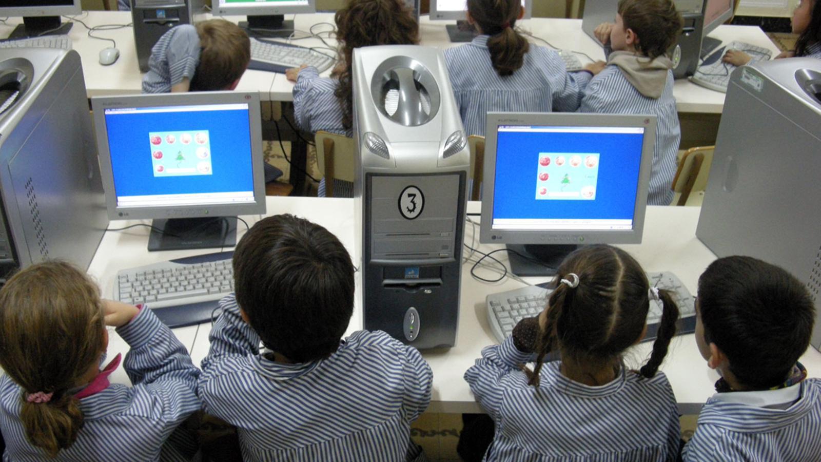 Una classe de primària