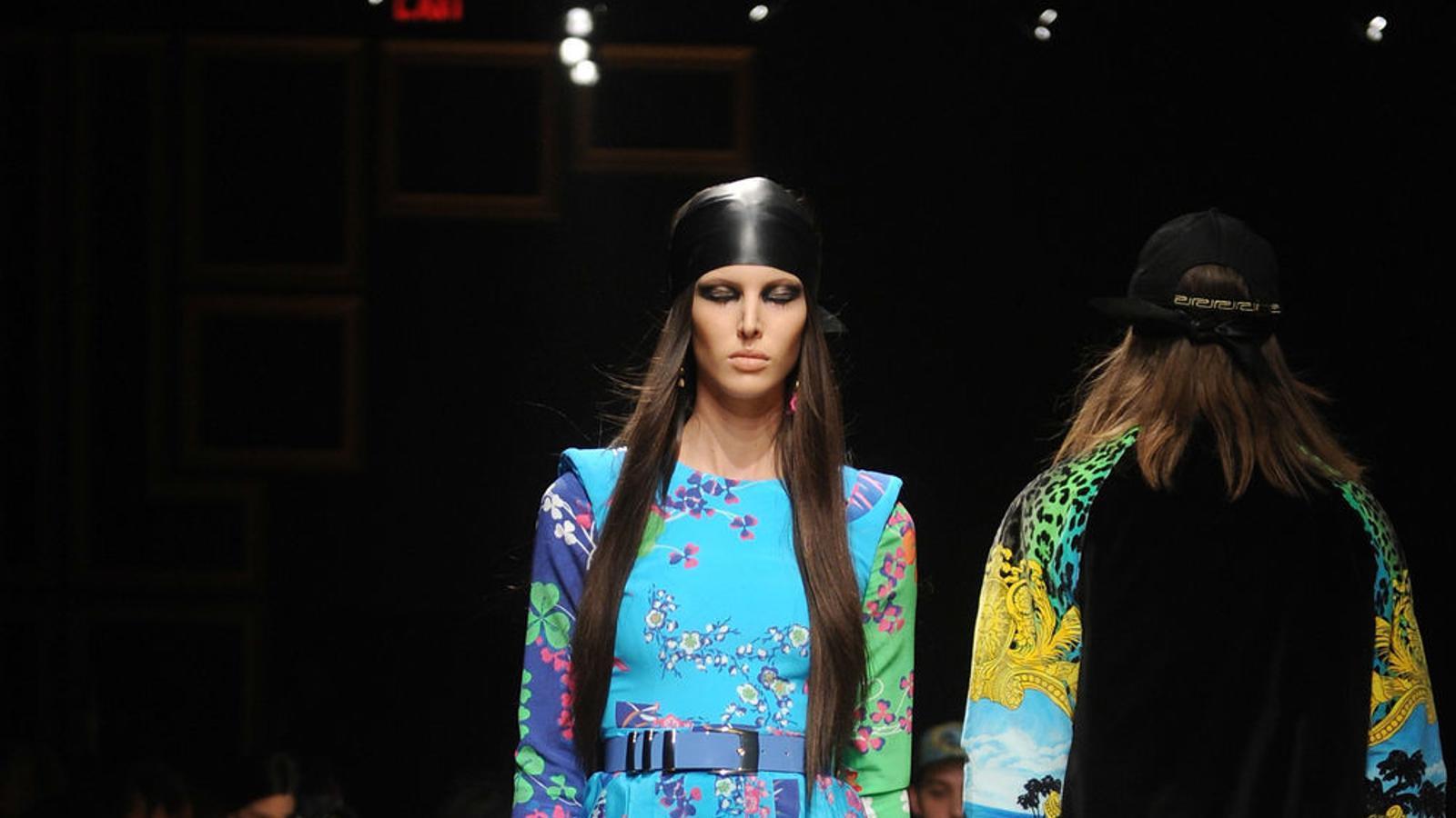 Una desfilada de Versace