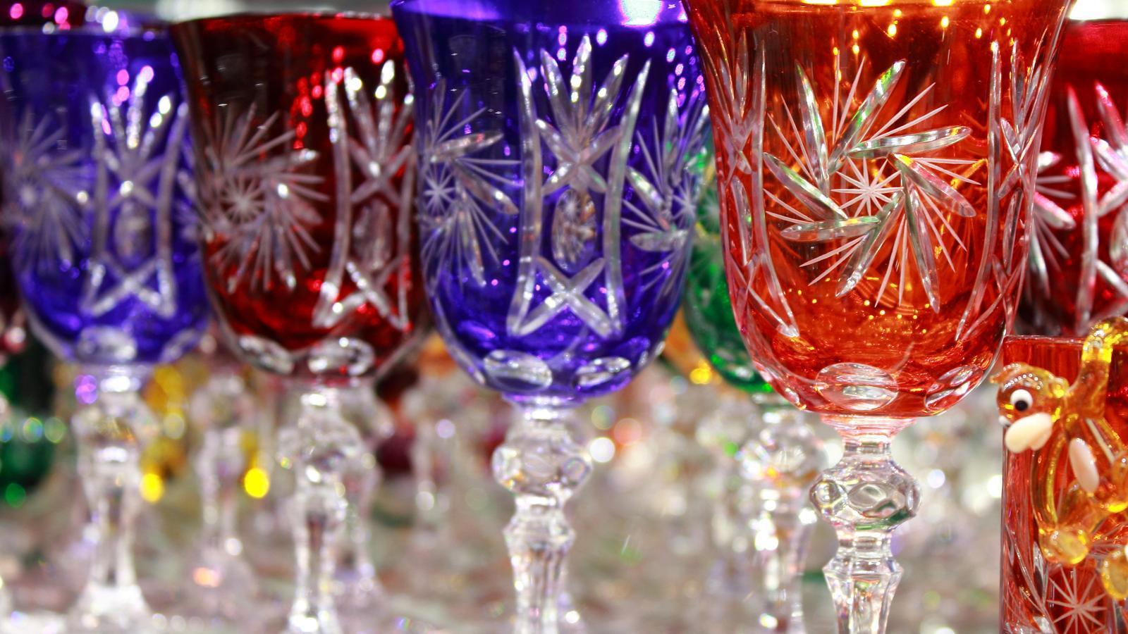 La cristalleria de la Bohèmia ocupada pels nazis era un dels productes que venia Hugo Vinçon.