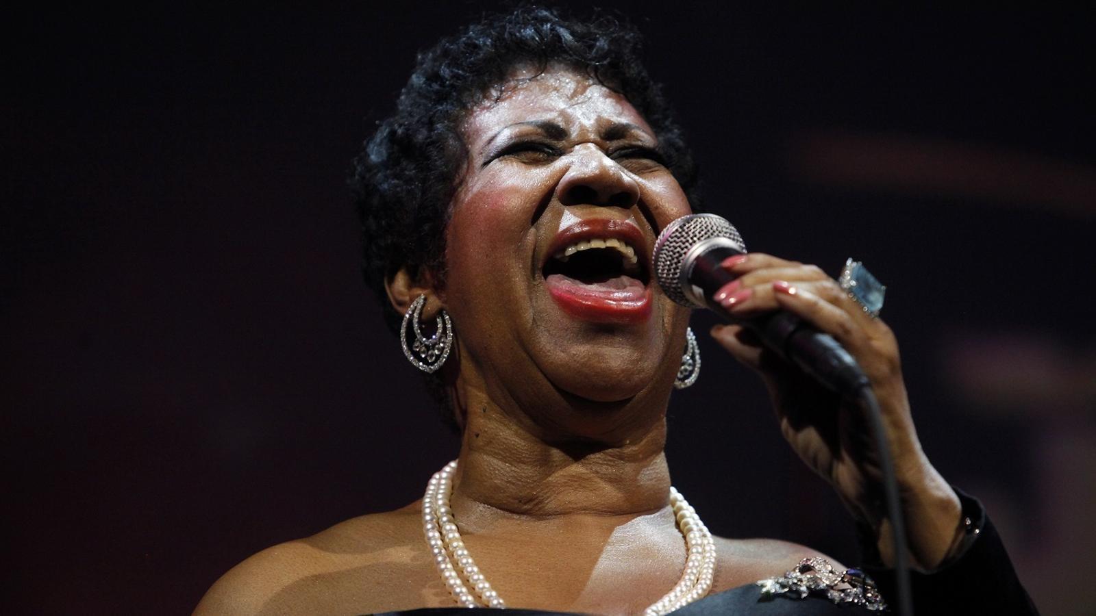 Mor Aretha Franklin, la reina indomable del 'soul'