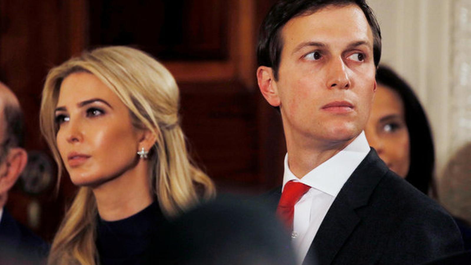 Ivanka Trump i Jared Kushner, beneficiaris d'un imperi de 740 milions