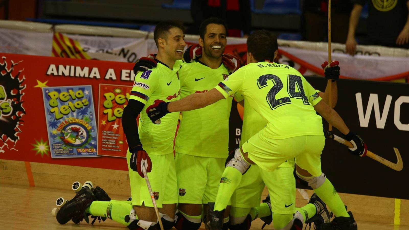 El Barça Lassa tanca els quarts de final de la Copa superant un combatiu Noia Freixenet (4-2)