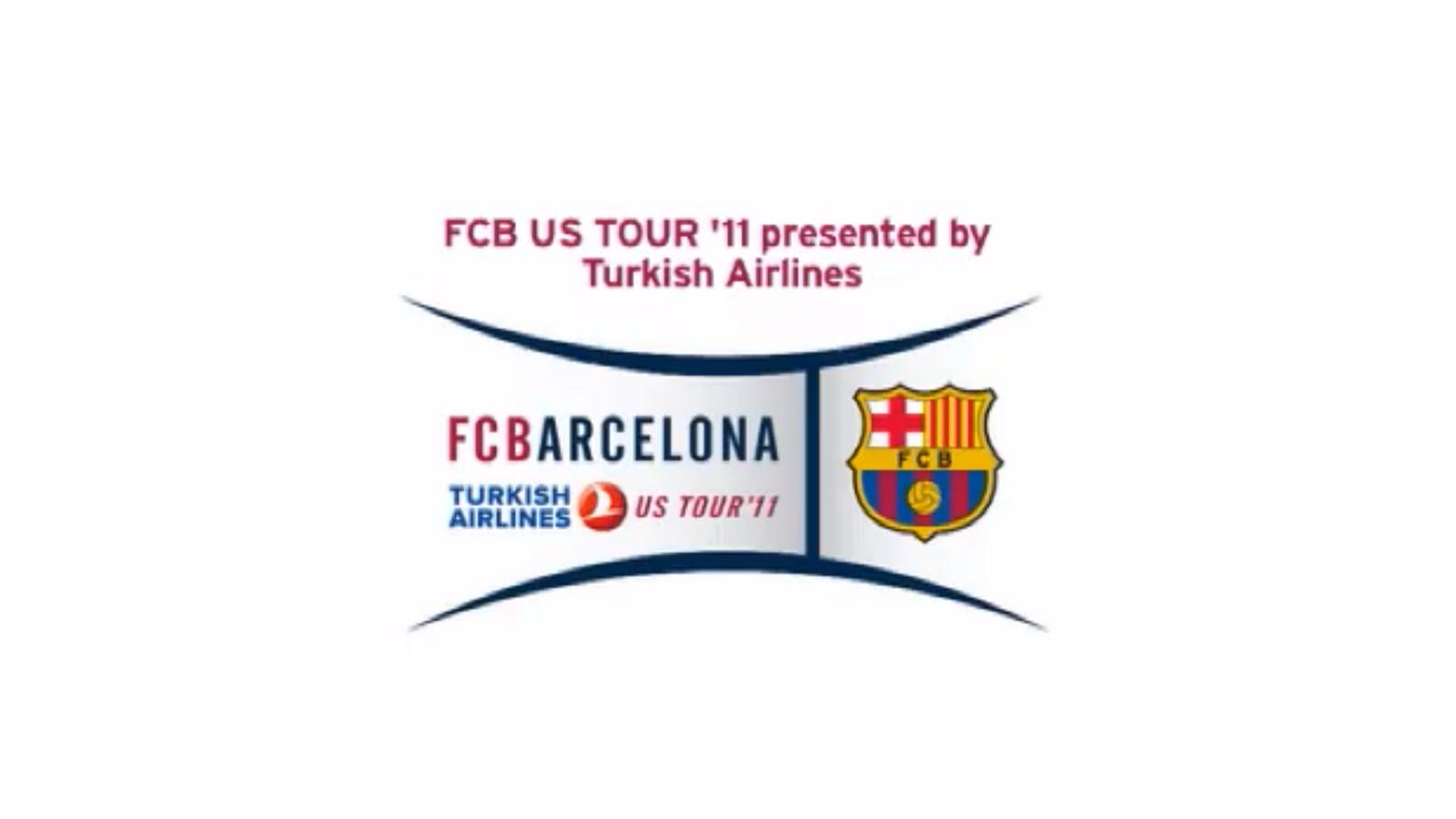 El Barça presenta la seva gira pel nord d'Amèrica