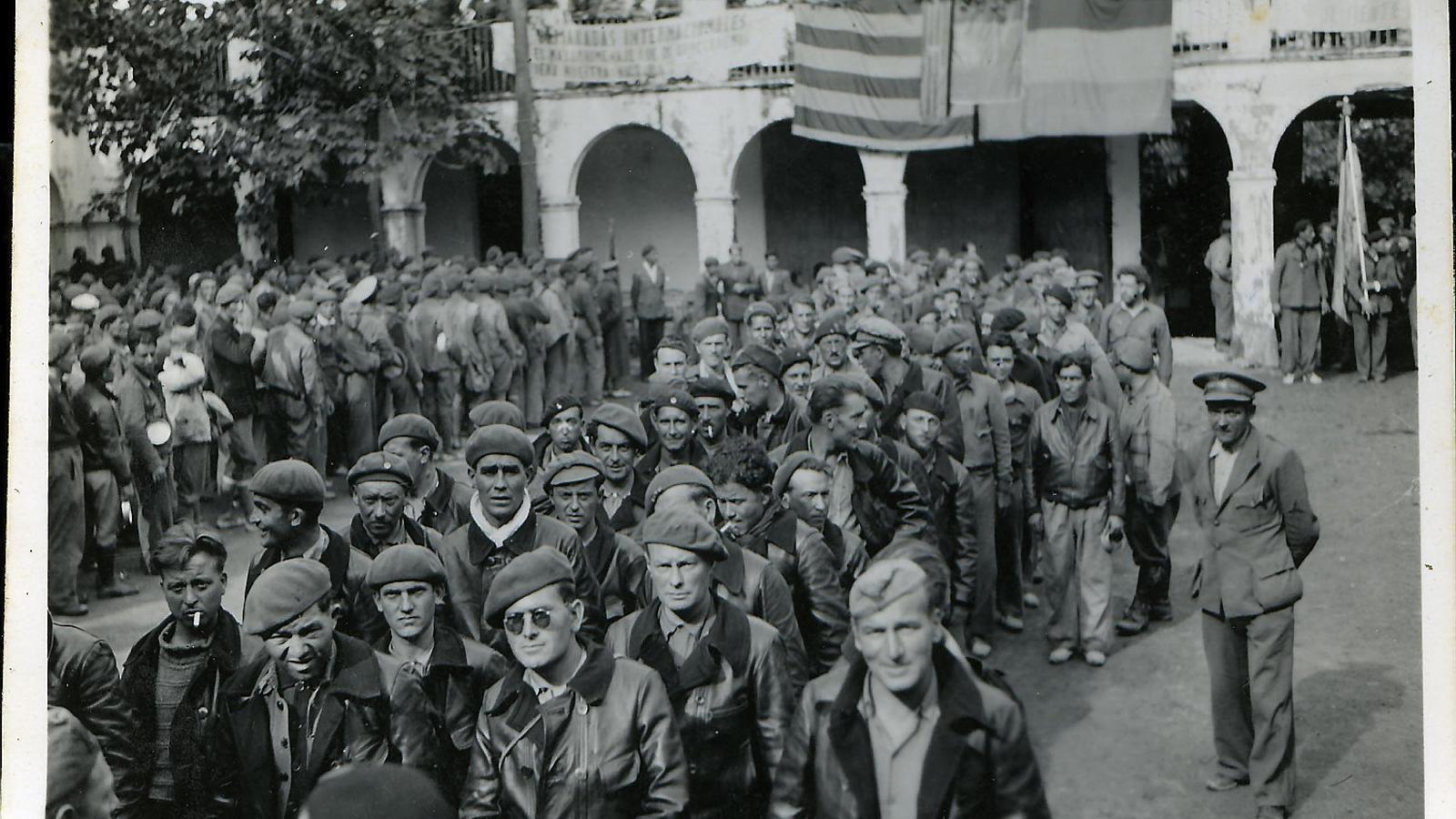 Els brigadistes invisibles que van dir adeu fa 80 anys