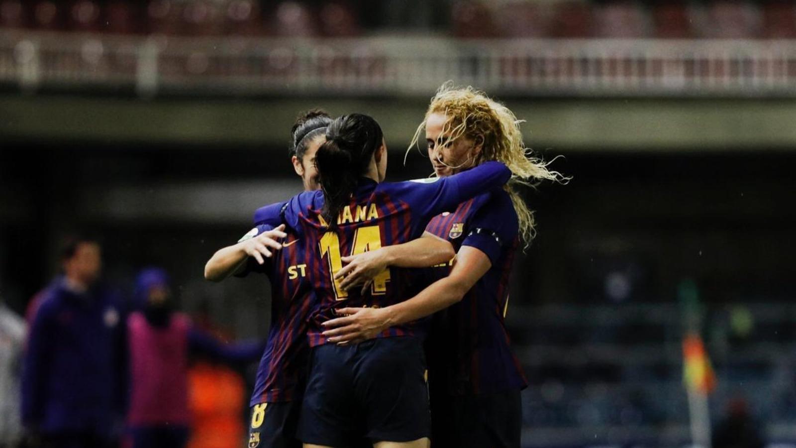 Bonmatí i Duggan reactiven un Barça que sacseja la Lliga (2-1)
