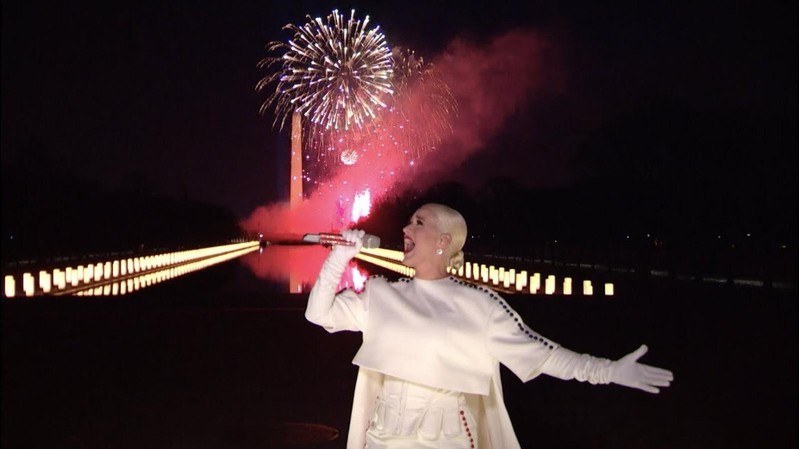 Katy Perry, 'Firework' (Celebrating America)