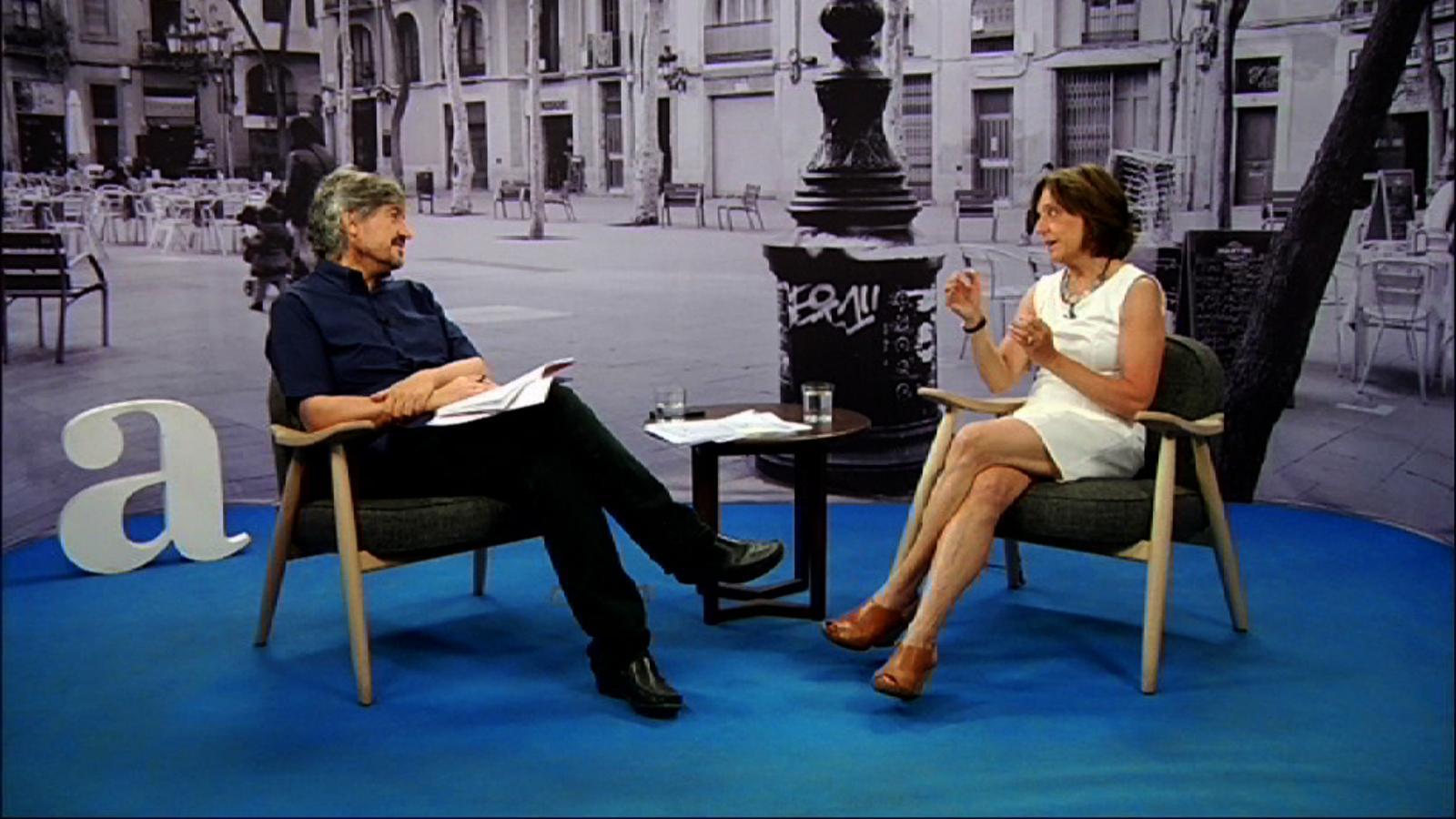 Entrevista de Carles Capdevila a Roser Salavert