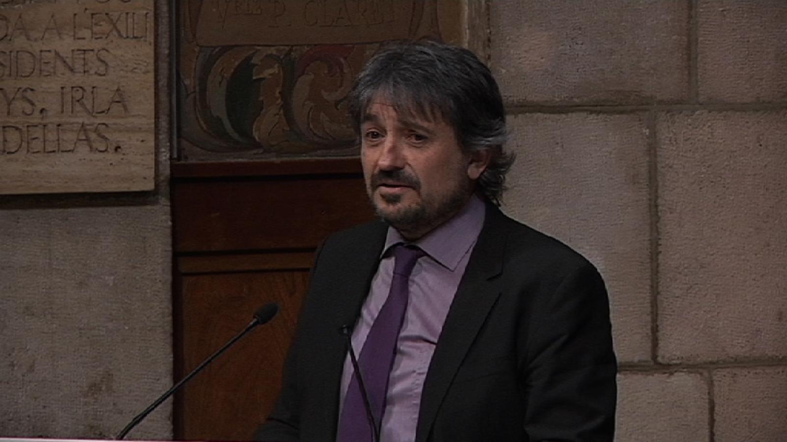 Carles Capdevila, en el lliurament del Premi Nacional: És merescudíssim, la redacció de l'ARA se l'ha guanyat