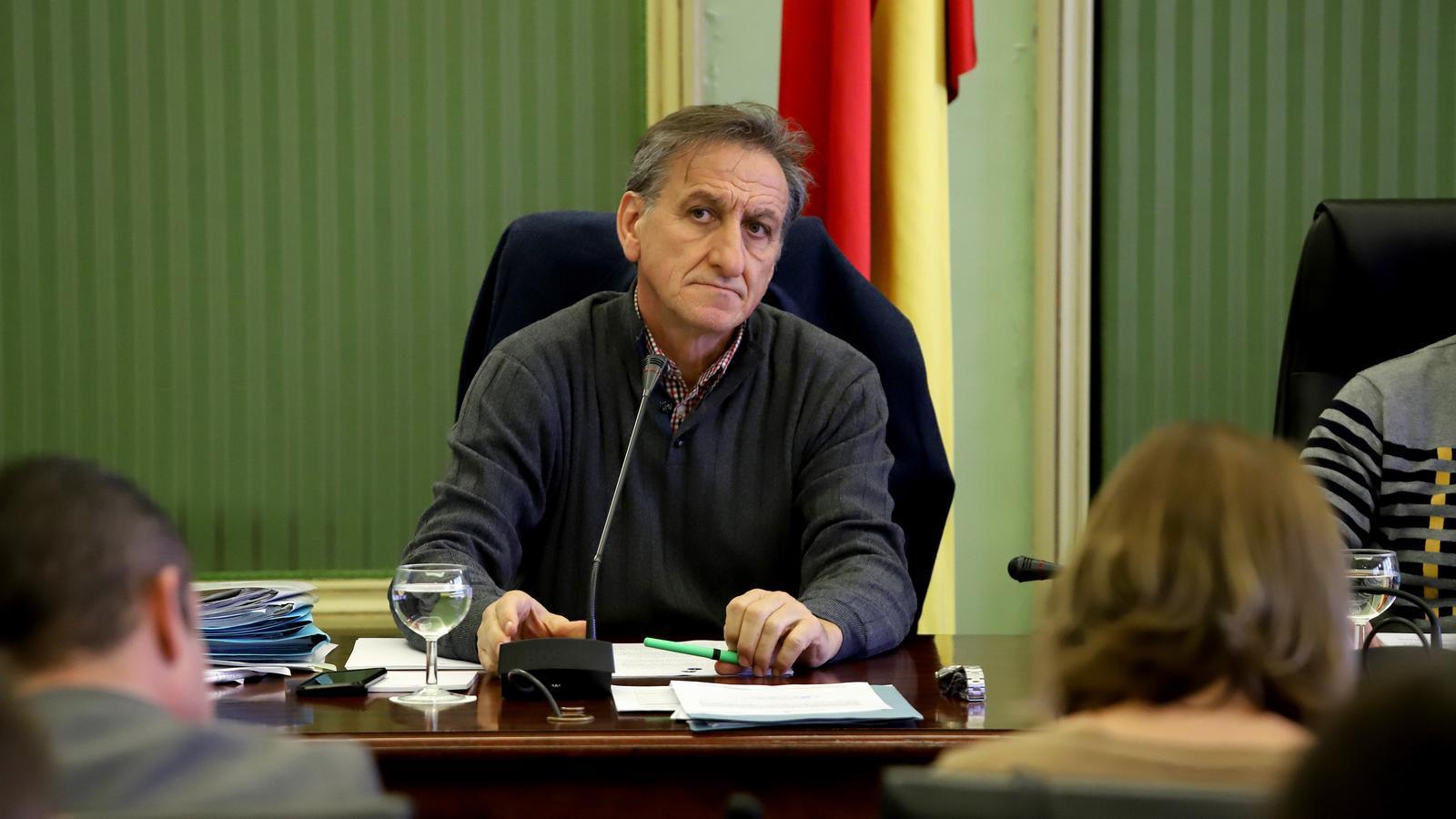 El director de l'Oficina Balear de la Infància i l'Adolescència, Serafín Carballo, aquest dijous en el Parlament