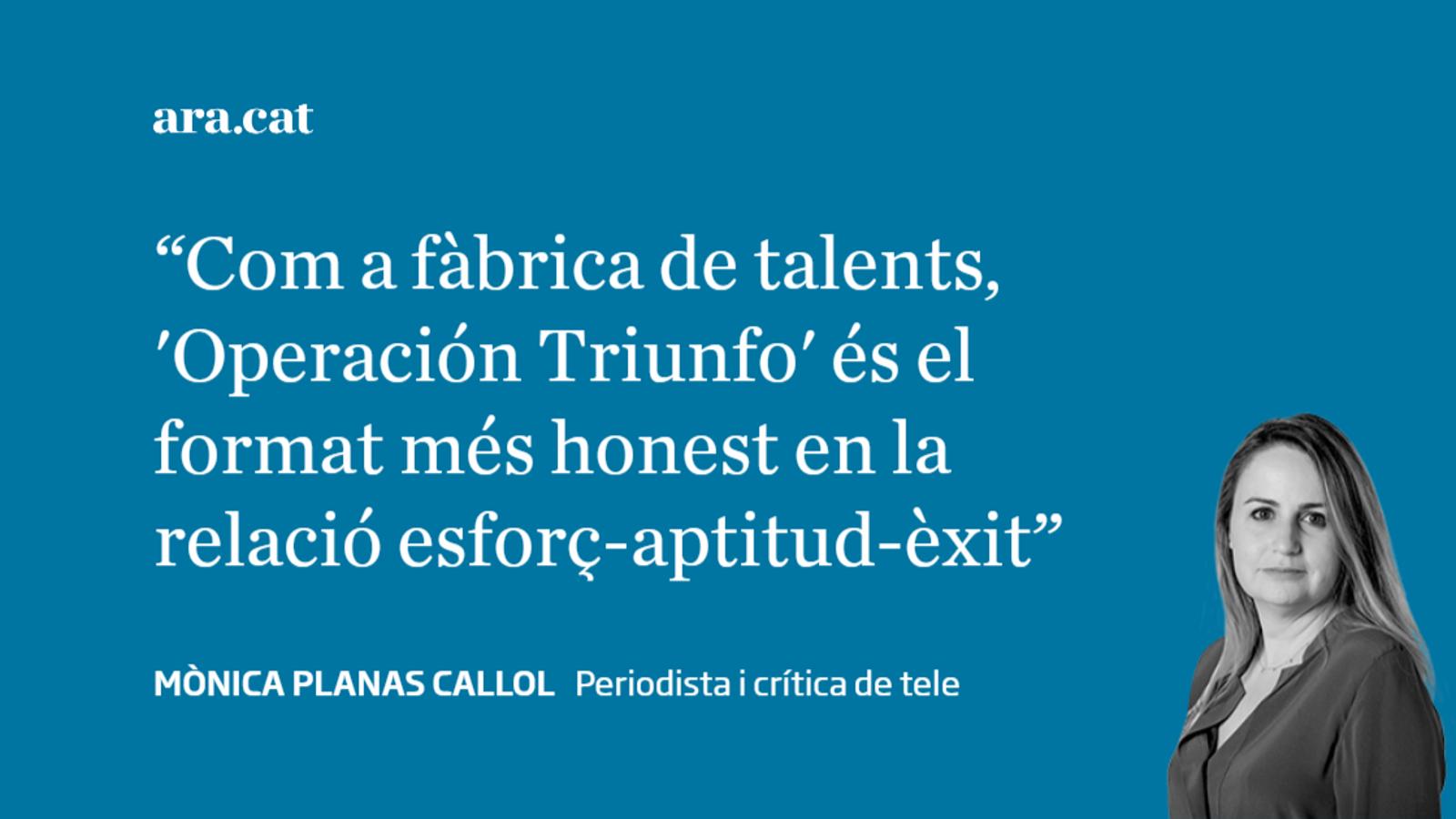 La cultura 'Operación Triunfo'