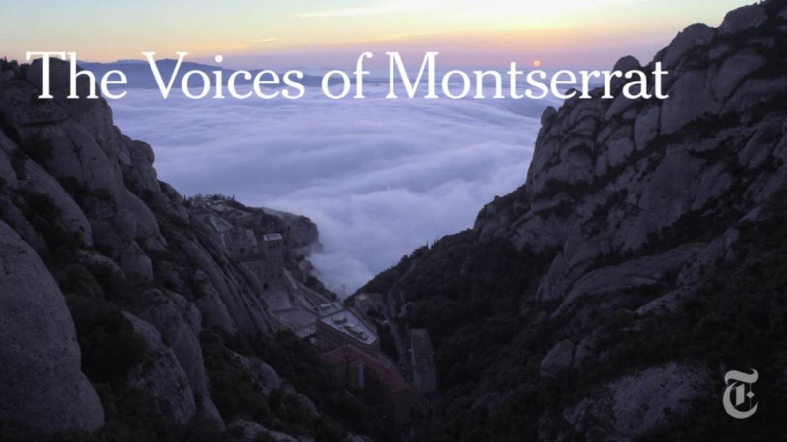 Les veus de Montserrat: reportatge sobre l'Escolania al 'New York Times'