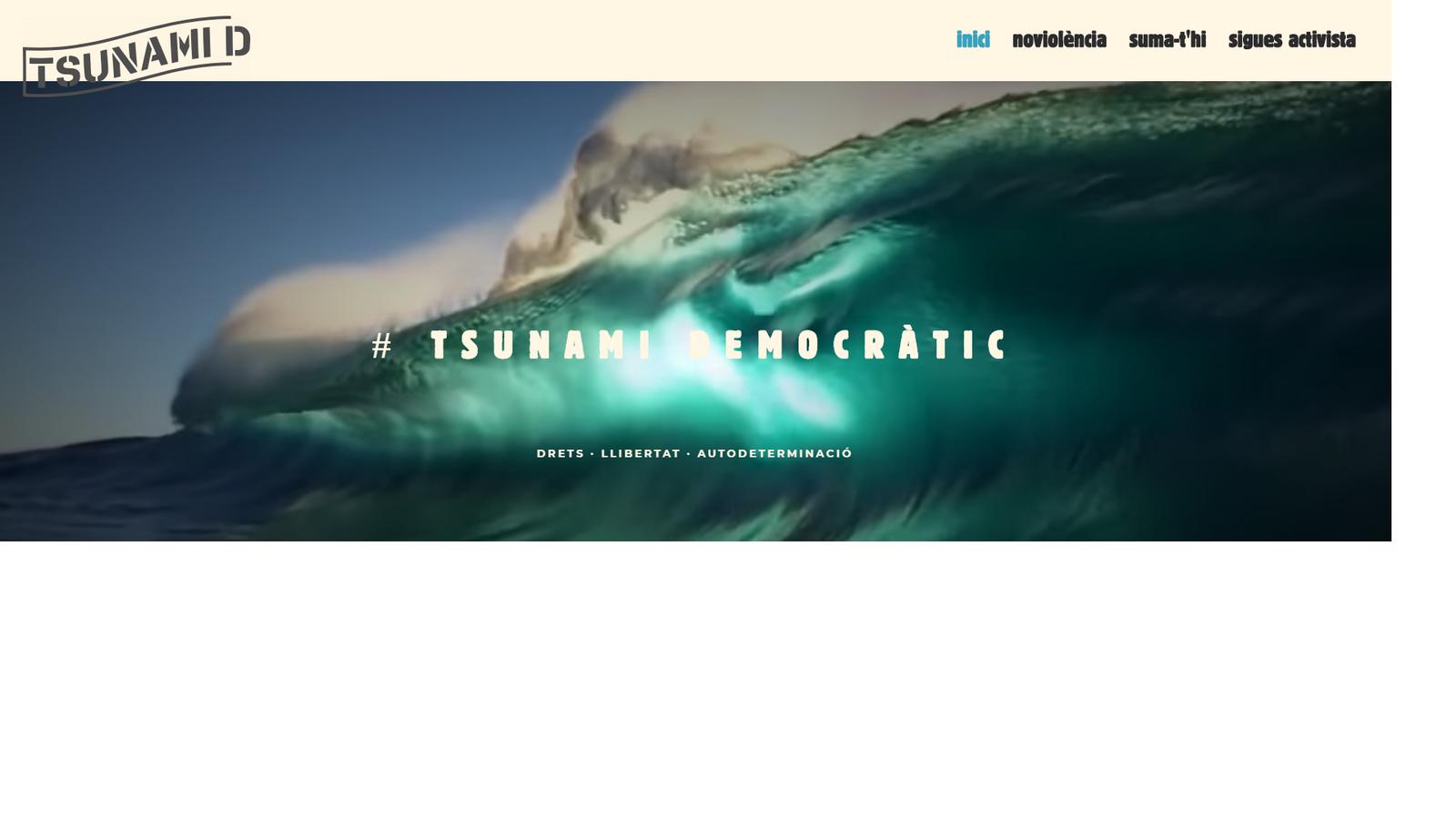 La Guàrdia Civil tanca les pàgines de Tsunami democràtic i la plataforma les reobre amb un altre domini