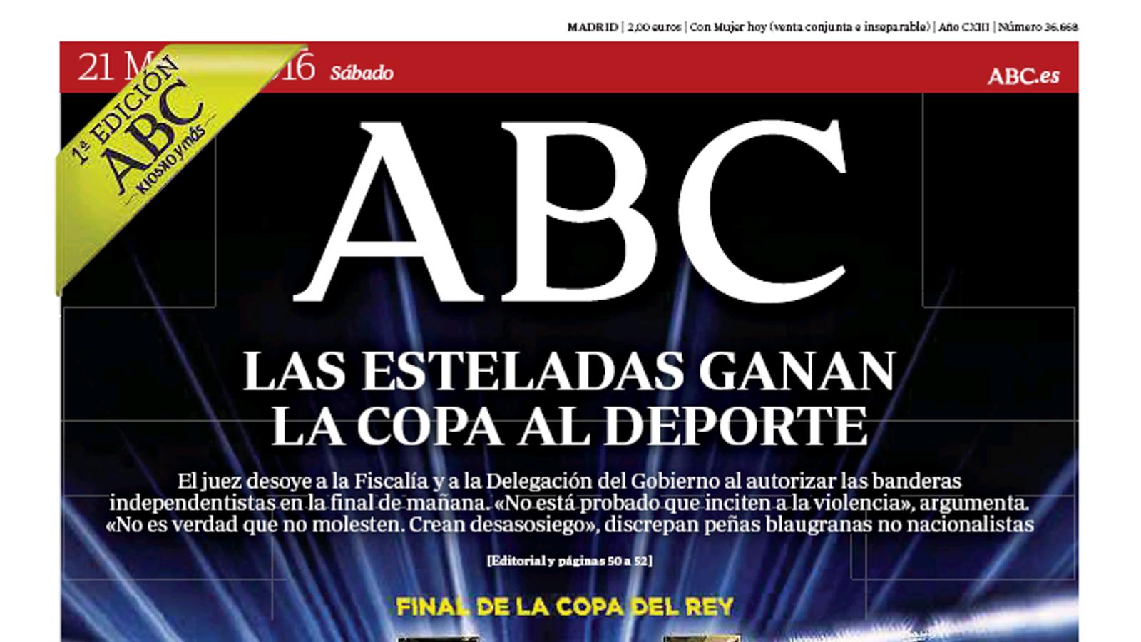 Portada de l''ABC'