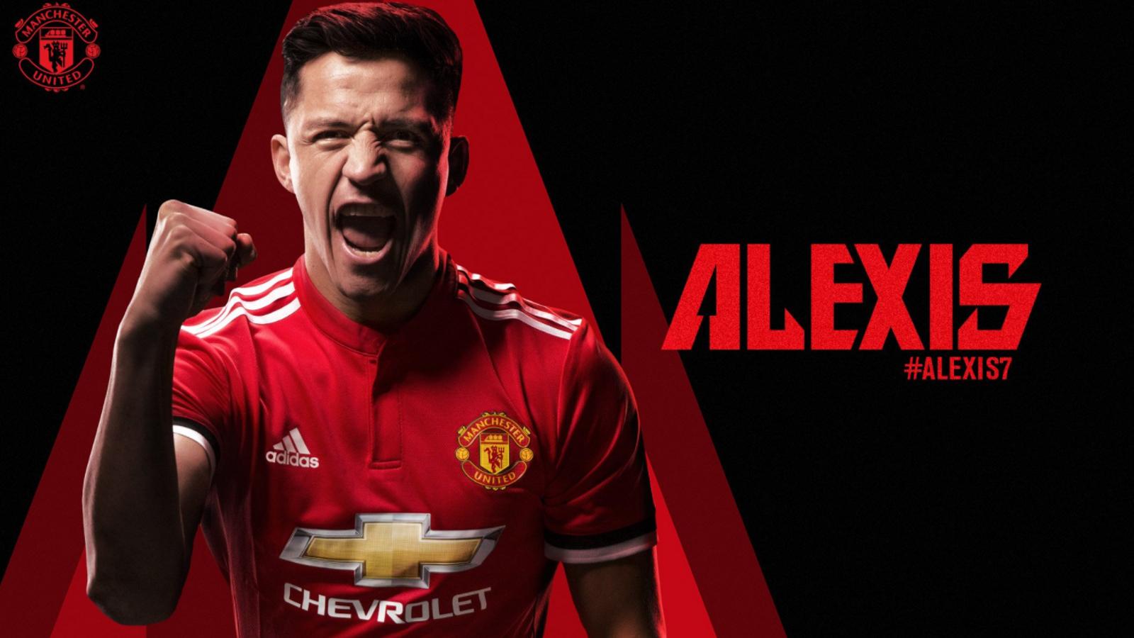Alexis fitxa pel United