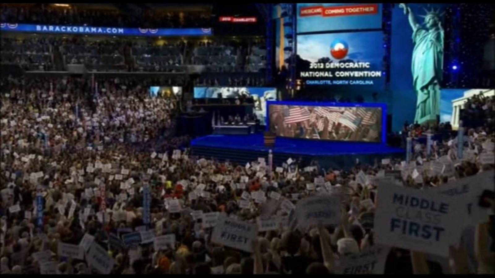 El discurs de Clinton en defensa de la gestió d'Obama genera eufòria entre els demòcrates