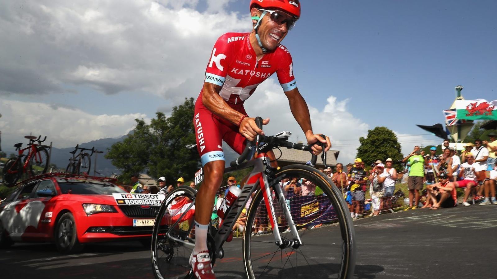 Joaquim Purito Rodríguez aspira a penjar-se una medalla en els Jocs Olímpics de Rio, en el seu últim any com a ciclista professional.