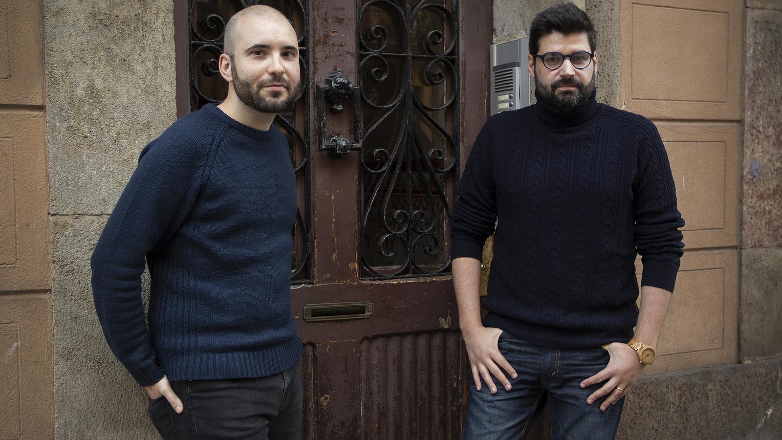 Cristian Palomo i Vicent Baydal, coordinadors de Pseudohistòria contra Catalunya. De l'espanyolisme a la Nova Història