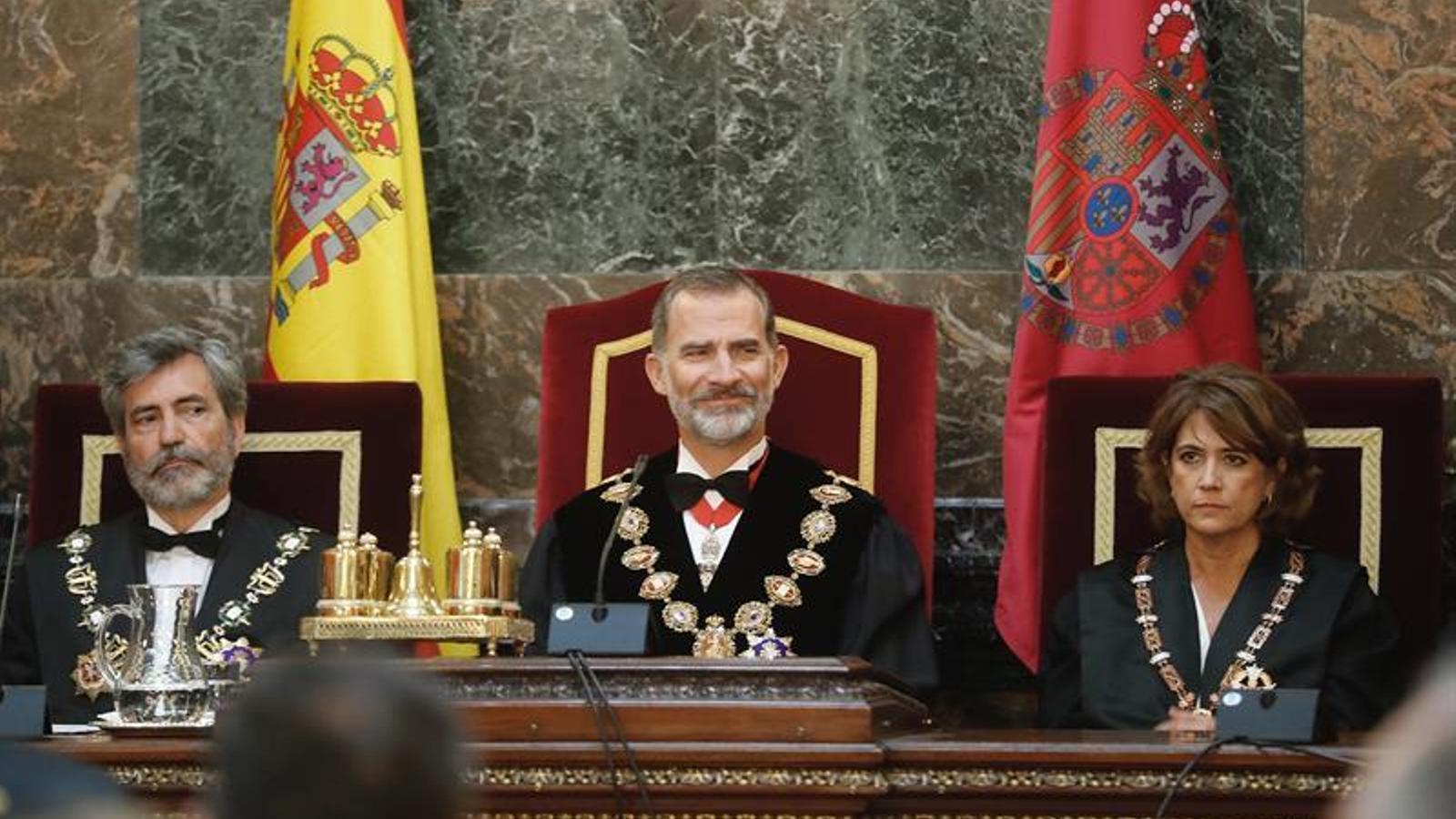 """La Casa del Rei puntualitza que la trucada a Lesmes va ser de """"cortesia"""" i sense """"consideracions institucionals"""""""