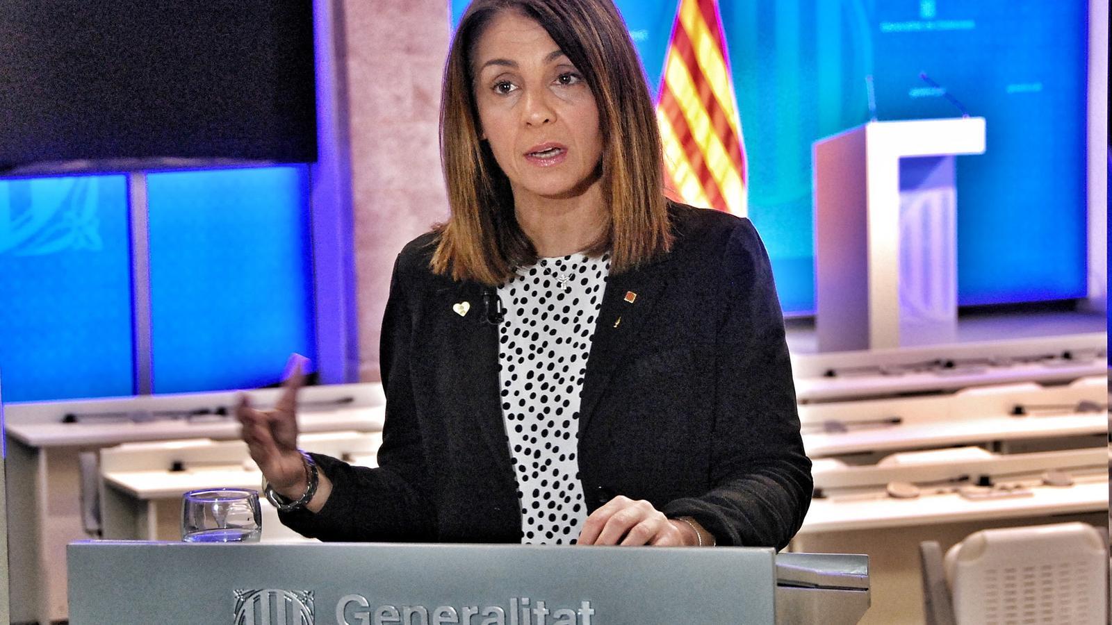 EN DIRECTE | Roda de premsa de Meritxell Budó i Bernat Solé per informar dels acords de Govern