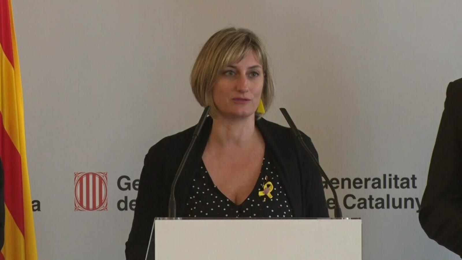 La consellera Vergès compareix a la comissió de Salut al Parlament