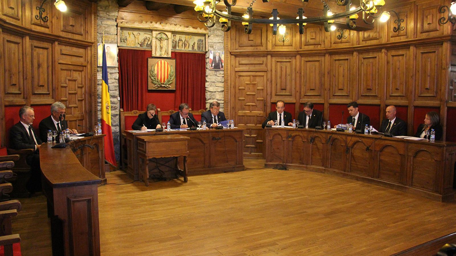 La celebració del consell de comú de Sant Julià de Lòria. / M. M. (ANA)