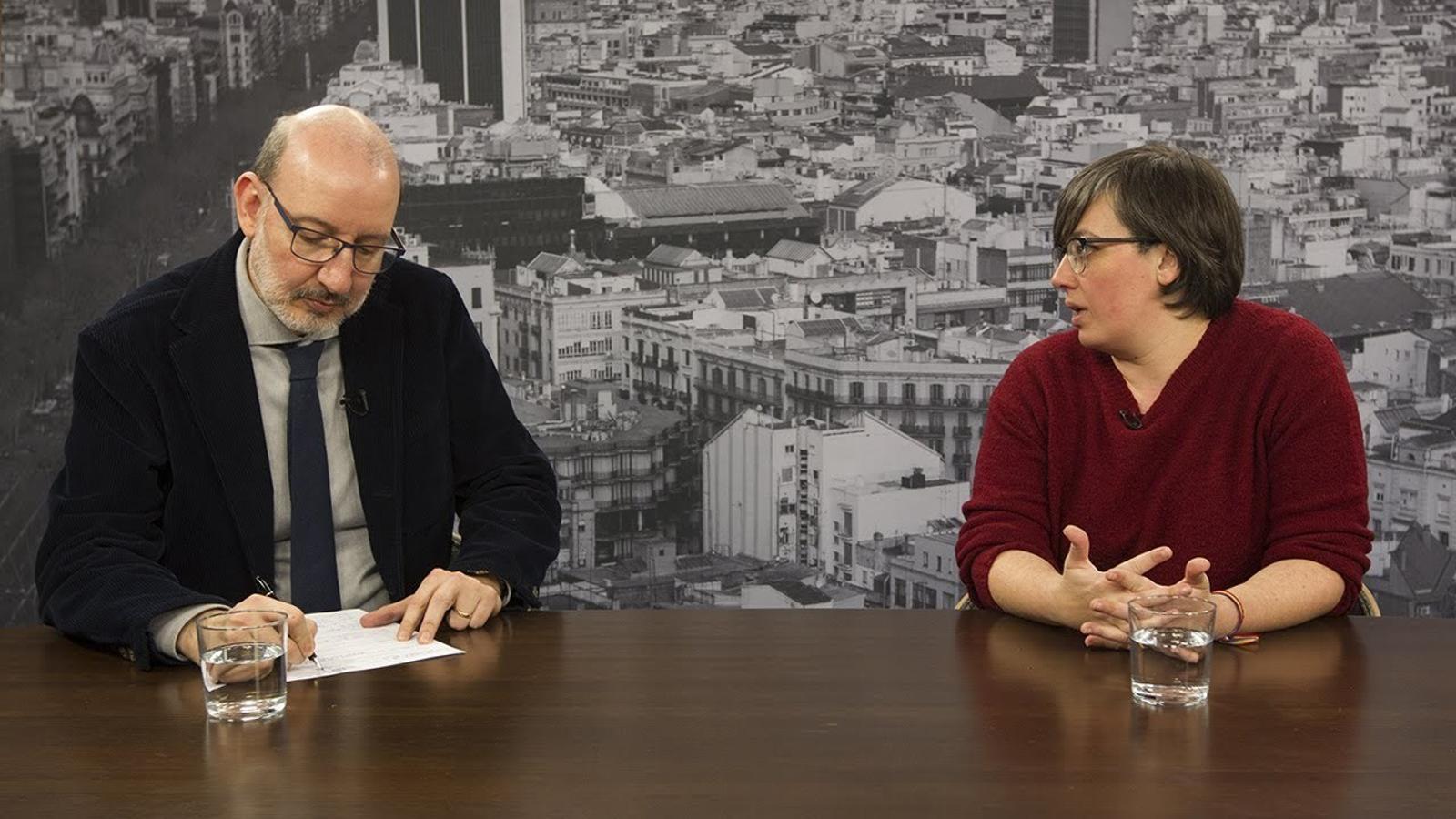 Mireia Boya reclama una estratègia consensuada per afrontar la causa oberta contra l'independentisme