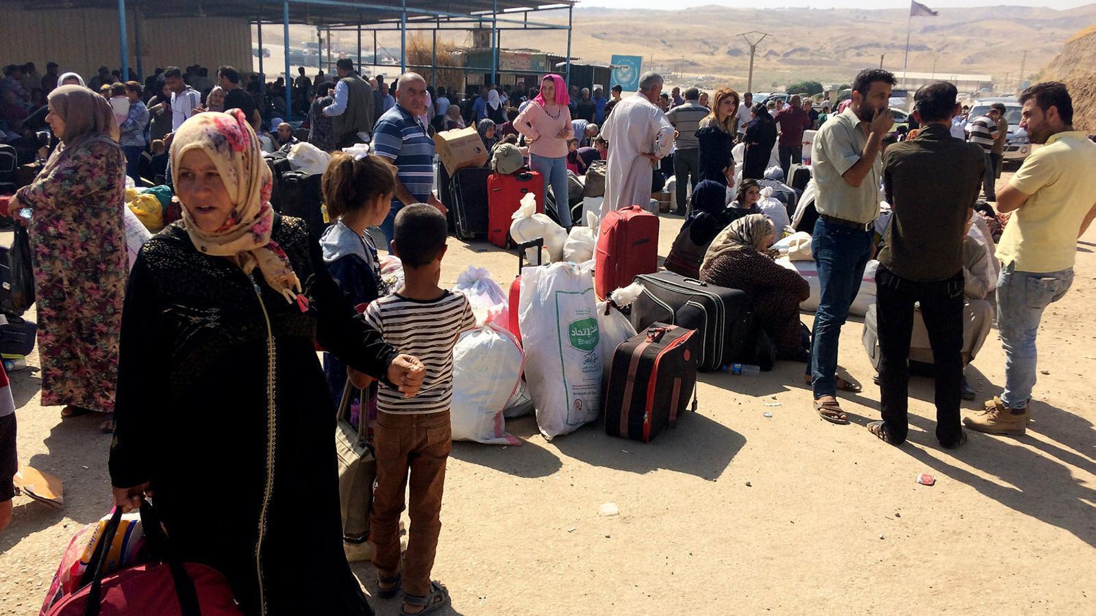 Els kurds de Síria, atrapats en una ratera