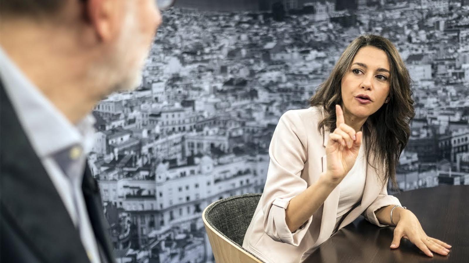 Entrevista d'Antoni Bassas a Inés Arrimadas
