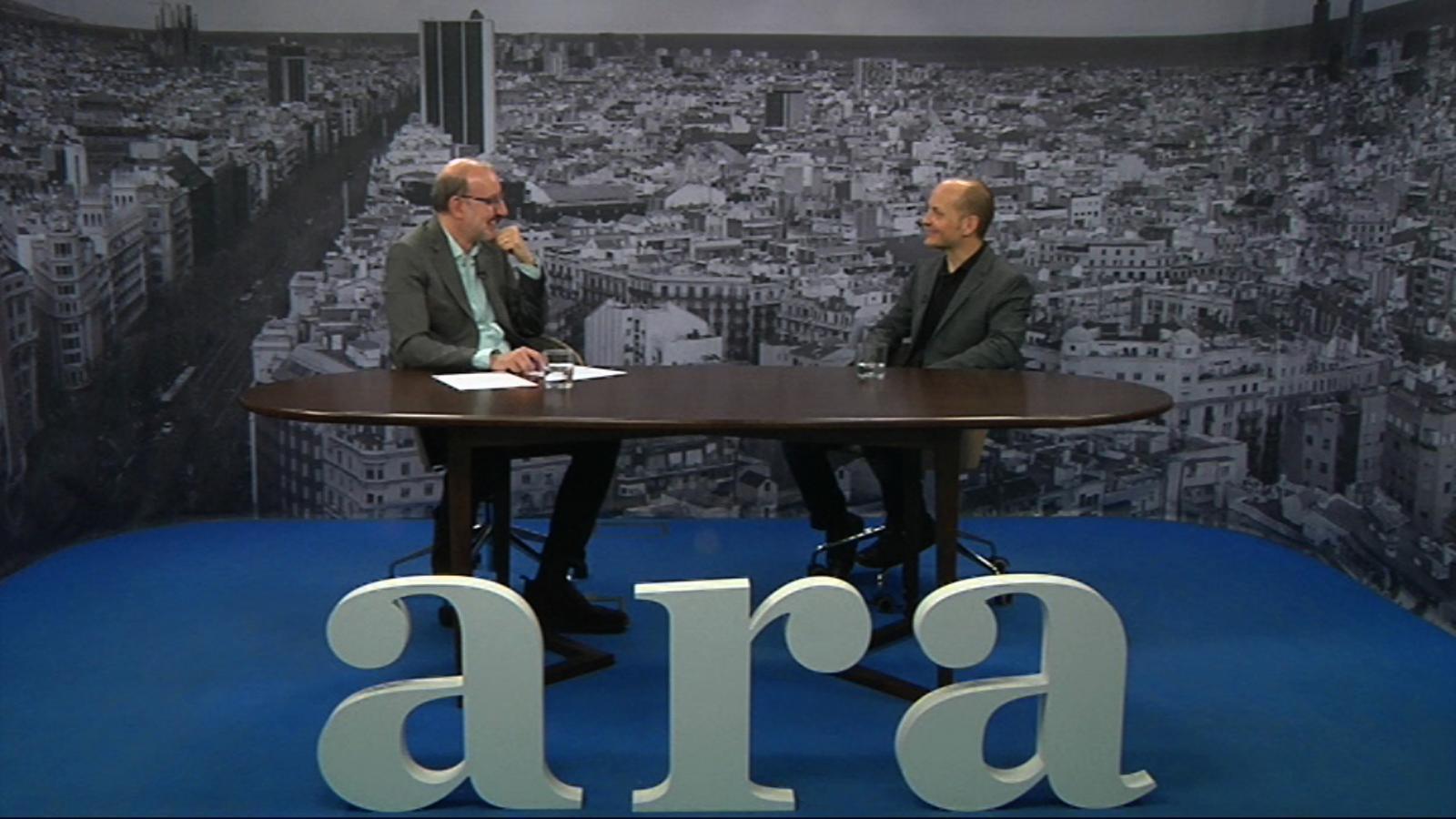Entrevista d'Antoni Bassas a Xavier Trepat