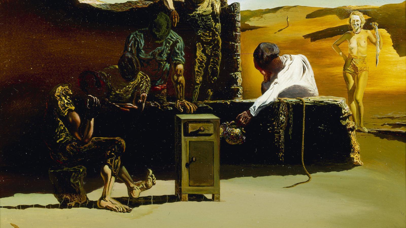 Salvador Dalí radiografiat